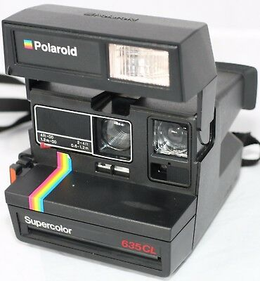 Polaroid 635 CL Instant Camera Tested Working FREE UK POST