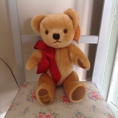 Merrythought London Classic Gold Teddy Bear - 14 inches
