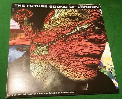 "The Future Sound Of London (FSOL) Far-out Son Of Lung 12"" Vinyl Trance Record"