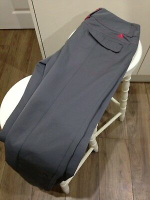 Ladies Adidas Climalite Golf Trousers Size 10 VGC