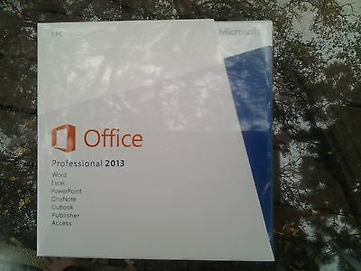 Microsoft office professional 2013 with DVD