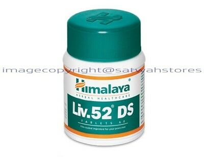 Himalaya Herbals Liv52 DS (Double Strength) 60 Tablets FRESH STOCK LONG EXPIRY