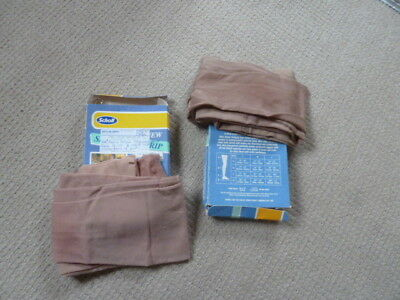 Scholl Class 2 M Thigh Sand Compression Stockings. New.