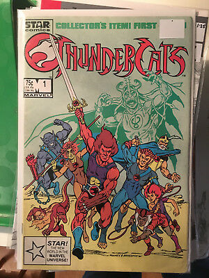 THUNDERCATS #1 FN 1st Print Star Marvel Comic 1st Appearance of Everyone!