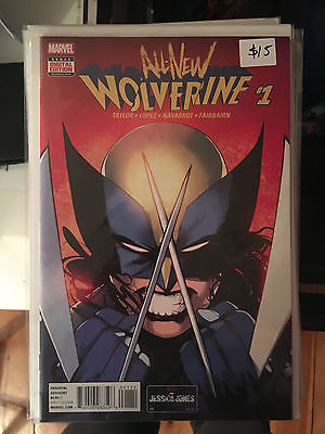 ALL NEW WOLVERINE #1 NM 1st Pritn 1st X-23 as New Wolverine
