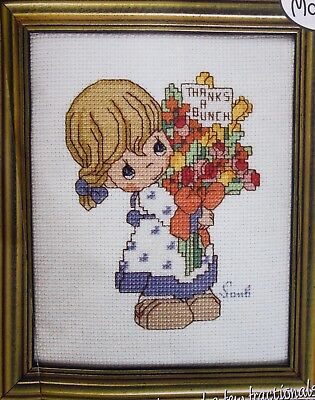 'Thanks A Bunch' PRECIOUS MOMENTS Cross Stitch Chart