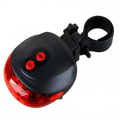 LED Bike Light Mountain Waterproof Bicycle Warning MTB Rear Lamp for Safety S3A8