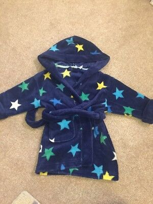 Boys Next Dressing Gown Age 12-18 Months