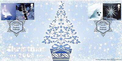 GB 2003 Christmas Benham first day cover  with Frostrow cancel (BLCS267)