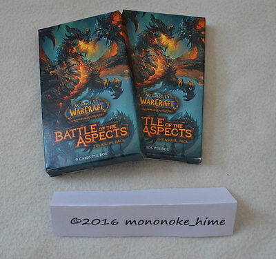 WoW TCG - 2x Battle of the Aspects Treasure Pack - World of Warcraft