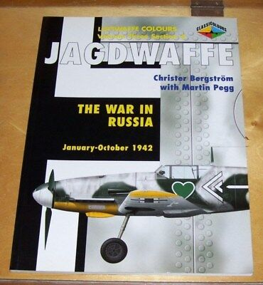 Luftwaffe Colours Vol 3 Sect 4 Jagdwaffe The War In Russia Jan-Oct 1942
