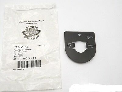 HARLEY-DAVIDSON NEW OEM MADE IN USA Touring IGNITION SWITCH PLATE  71422-03