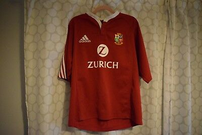 British Lions Rugby Shirt 2005 New Zealand Tour - Large