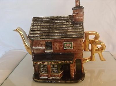 Rare Cardew Bovey Tracey Collectable Novelty Lge Teapot Rovers Return Perfect