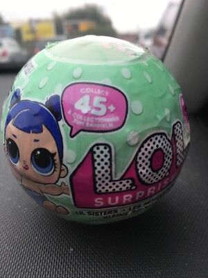 ❤Lol Surprise Ball 'lil Sisters' Series 2 Wave 2 X 1 Brand New Still Sealed
