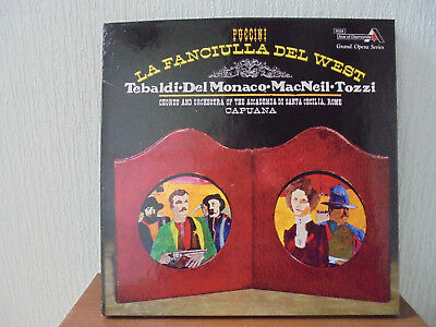 Puccini ' La Fanciulla Del West ' Decca Ace of Diamonds GOS 594-6 (3LP Box Set)
