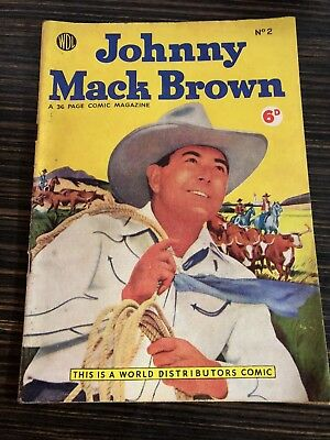 Johnny Mack Brown Comic No. 2