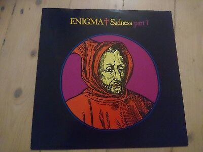 Sadness Part 1 by Enigma 12inch vinyl 1990