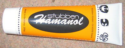 STUBBEN HAMANOL Leather Bridle Saddle Dressing Cleaner Conditioner Cream 250g