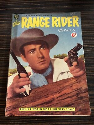 The Range Rider Comic No. 2 1954