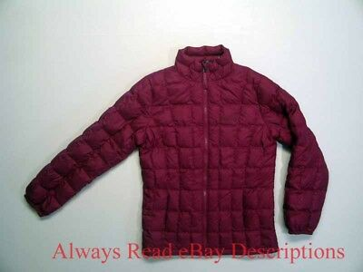 MARMOT QUILTED DOWN INSULATED JACKET - Purple Thermal Sol Full Zip - Girls Large