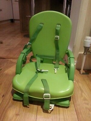 Mothercare Deluxe Folding Booster Seat , Travel High Chair, Lime Green