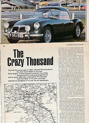 10 LOT Great UK Magazine Articles All About Historic Rallying Competition, 82-08