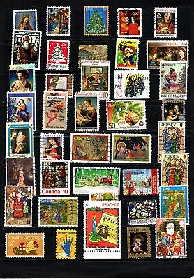 Thematics 40 all Different Collection 130 Christmas