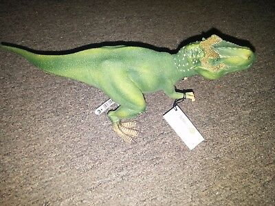 Schleich Tyrannosaurus Rex Dinosaur Figurine with Poseable Jaws - New with Tags