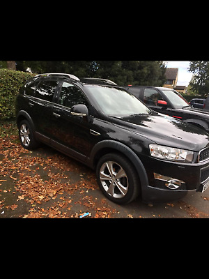 2012 Chevrolet Captiva ltz 7 seater black automatic