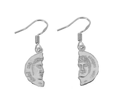 NICE Divided but always united Divisi ma sempre uniti Italy Sterling Silver Earr