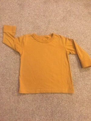 Boys Long Sleeve Next Top Age 9-12 Months