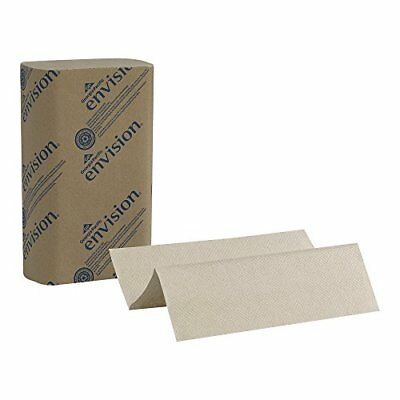 "Georgia-Pacific Envision 23304 Brown Multifold Paper Towel WxL 9.2"" x 9.4"" Ca..."