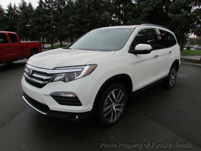 2017 Honda Pilot Elite AWD Elite AWD New 4 dr SUV Automatic Gasoline 3.5L V6 Cyl White Diamond Pearl