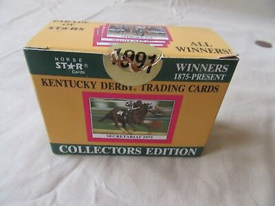 1990/91 Star Cards Kentucky Derby Trading Cards