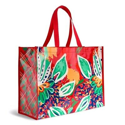 NWT Vera Bradley Eco Friendly Shopper / Market Tote Shopping Bag ~RUMBA~
