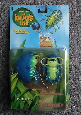 Tuck & Roll - a bug's life - Bugs Action Figure Disney Pixar Mattel 1998 MOC