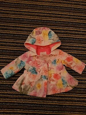 Used Ted Baker Baby Girls Coat 0-3 Months