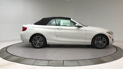 2018 BMW 2 Series 230i xDrive 230i xDrive 2 Series New 2 dr Convertible Automatic Gasoline 2.0L 4 Cyl Alpine W