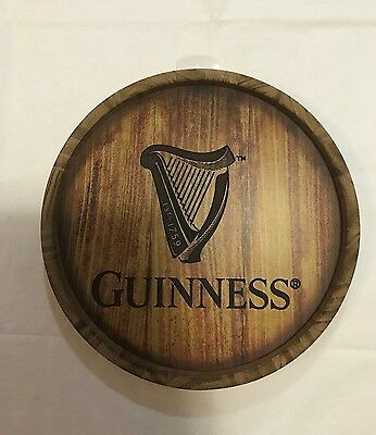 New Guinness Guiness 3D Barrel Wall Art Sign WSD170007