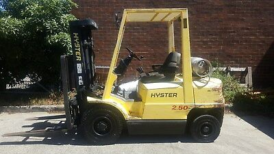 Hyster Forklift 2.5T Container Mast Side Shift
