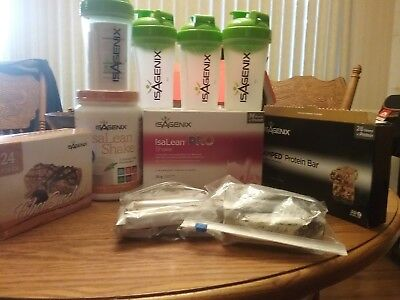 Large lot of Isagenix products