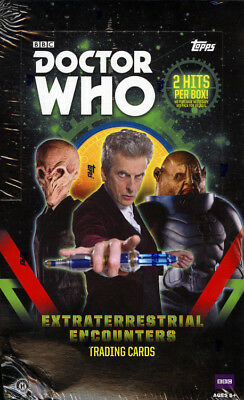 2016 Topps Doctor Who Extraterrestrial Encounters SEALED Hobby Box Free S&H