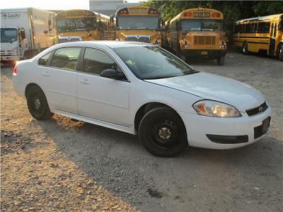 2012 Chevrolet Impala Police 9C1 _ Only 20k Low Miles _ Free Ship. W/BIN Ex-Police Training Vehicle _ Still Covered By GM Powertrain Warranty
