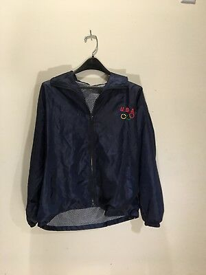 Vintage Olympic Coaches Jacket, Fire Piece Good Condition