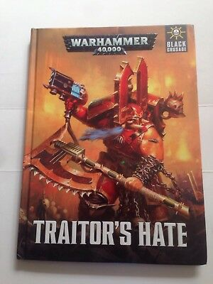 Traitor's Hate Warhammer 40k Campaign Book Hard cover