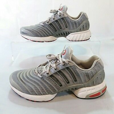 premium selection 543d3 4225f MENS ADIDAS CLIMACOOL RUNNING Walking SHOES SZ 12 D Adiprene TRAINERS gray  red