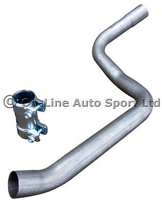 Ford Fiesta MK6 ST150  Performance Exhaust Race Tube -  Centre Pipe