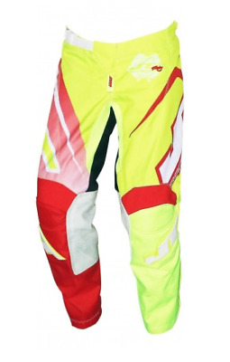 Jt Racing Pant Youth Flex 16 Volt Red/yellow/white /26