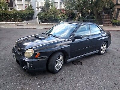 2003 Subaru WRX  2003 Subaru 4WD WRX Impreza Sedan Black - CarFax Included, Low Mileage